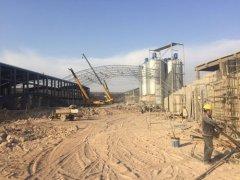 环保防尘大棚扩建一期工程
